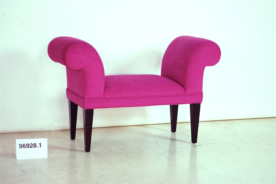 Hot Pink Settee