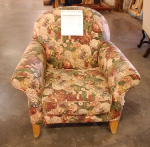 Reupholstery-Before